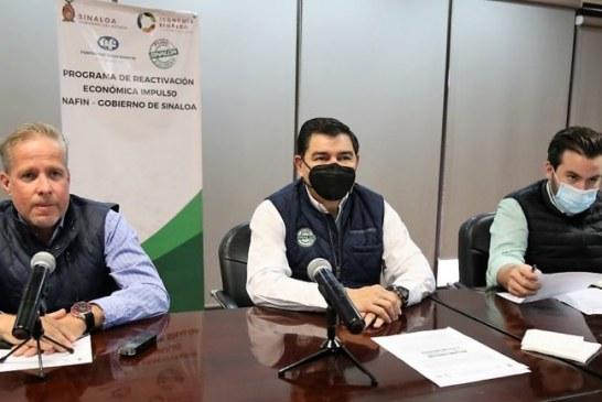 """Javier Lizárraga Mercado encabeza Puesta en Marcha del """"Programa de Reactivación Económica Impulso NAFIN-Gobierno de Sinaloa"""""""