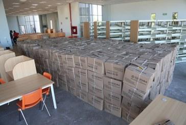 """Llegan 22 mil 160 libros a la Biblioteca """"Gilberto Owen"""""""