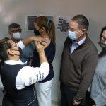 Quirino inicia vacunación contra el COVID para personal de Salud