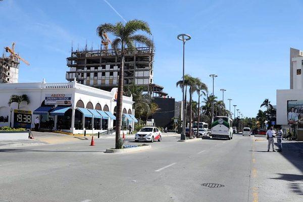 Reinaguraicón Av Camarón Sábalo Enero 2021 Mazatlán 6