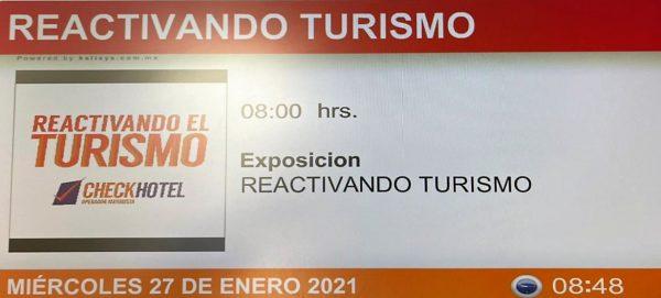 Trade Show Reactivando el Turismo Saltillo Coahuila México 2021 AHETM 2