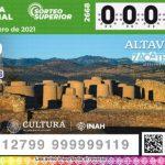 Celebran primer sorteo de lotería, de 32 dedicados a las zonas arqueológicas de México en 2021