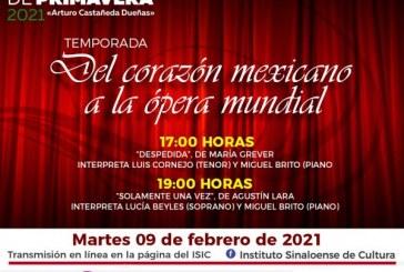 """""""Del corazón mexicano a la ópera mundial"""""""