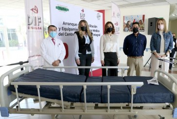 DIF Sinaloa rehabilitará y equipará el área médica del Centro Gerontológico Integral Recibidos