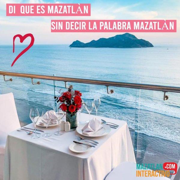 Di qué es #Mazatlán sin decir la palabra Sorteo MI Día del Amor y la Amistad 2021 1