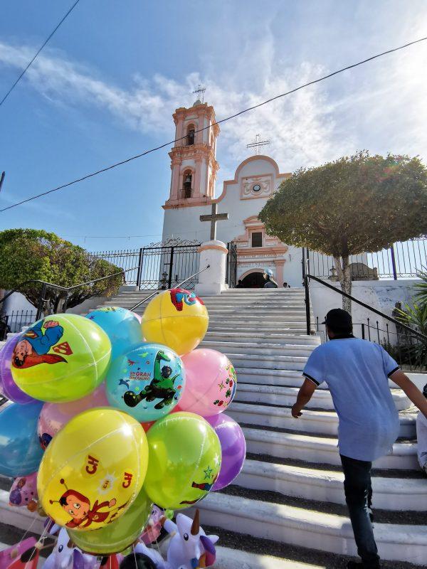 Iglesia de la Candelaria Aguacaliente de Gárate Zona Trópico Concordia Sinaloa México 2021 7