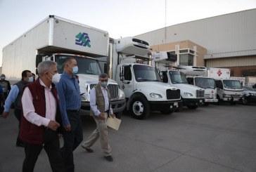 Quirino entrega vehículos y equipo para el sector salud por más de 32 mdp