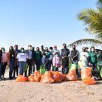 Limpian Santuario de la Tortuga Marina de Playa Ceuta