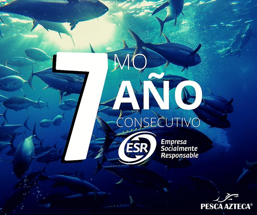 Pesca Azteca Empresa Socialmente Responsable Séptimo Año Consecutivo 2021