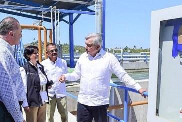 AMLO en Mazatlán anuncia e inaugura importantes Obras