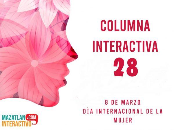 8 DE MARZO Día Internacional de la Mujer 2021 Columna Interactiva 28