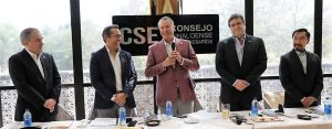 Consejo de Empresarios Sinaloenses y Quirino Ordaz Coppel Covid 19 2