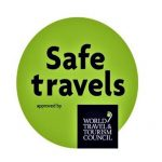 Distintivo Safe Travel Logo
