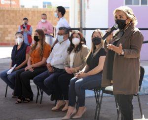 Entregan equipos productivos al Centro de Justicia para las Mujeres 2021 Morayma Marzo 1