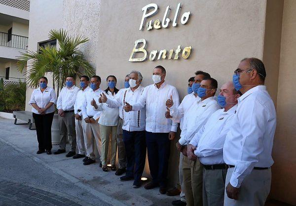 Ernesto Coppel Kelly Reinaugura en Hotel Pueblo Bonito Mazatlán Segundo Tianguis Digital Sede Mzt 2021 5