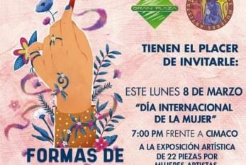 Presentarán formas de Mujer este lunes 8 de marzo: En la Gran Plaza de Mazatlán