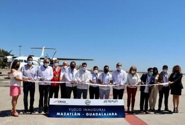 Inicia AeroMar su vuelo Guadalajara- Mazatlán