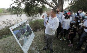 Inician las Obras del Puente Bimodal en el Río Humaya de Culiacán 2021 1