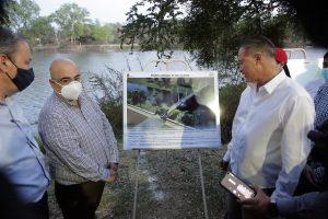 Inician las Obras del Puente Bimodal en el Río Humaya de Culiacán 2021 2