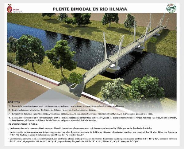 Inician las Obras del Puente Bimodal en el Río Humaya de Culiacán 2021 3a