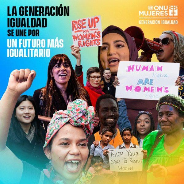 ONU Día Internacional de la Mujer 2021 Columna Interactiva 28