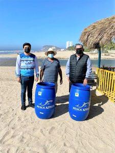 Pesca Azteca Payas Limpias Donación Contenedores 2021 1