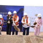 Quirino y Miguel Torruco colocaron la primera piedra del complejo hotelero: Dreams Mazatlán Estrella del Mar Golf & Spa Resort