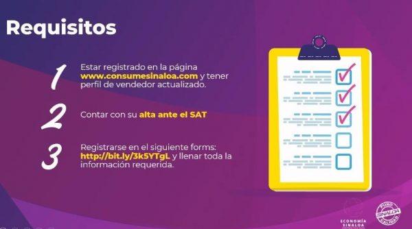 Sedeco Llevarán a los municipios el Mercado Consume Sinaloa 2021 2 Requisitos