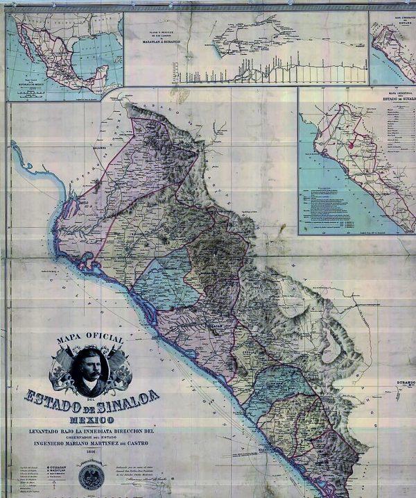 Sinaloa y su Historia Mazatlán Interactivo 2021 Mapa 1