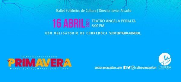 Temporada Cultural TAP Cultura Mazatlán 2021 2 Ballet 1