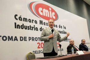 Toma Protesta CMIC Comité Directivo Sinaloa Sur 2021-2023 Encabezará Guillermo Trewartha Domínguez Quirino Ordaz Coppel Francisco Javier Solares Alemán 1