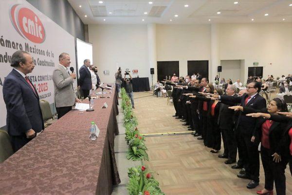 Toma Protesta CMIC Comité Directivo Sinaloa Sur 2021-2023 Encabezará Guillermo Trewartha Domínguez Quirino Ordaz Coppel Francisco Javier Solares Alemán 3