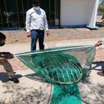 En Guaymas y Puerto Peñasco capacitan y actualizan sobre construcción correcta de Dispositivos Excluidores de Tortugas Marina y de Peces