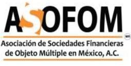 La Asociación de Sociedades Financieras de Objeto Múltiple en México AC ASOFOM- Invita a Reunión Regional en Mazatlán 2021