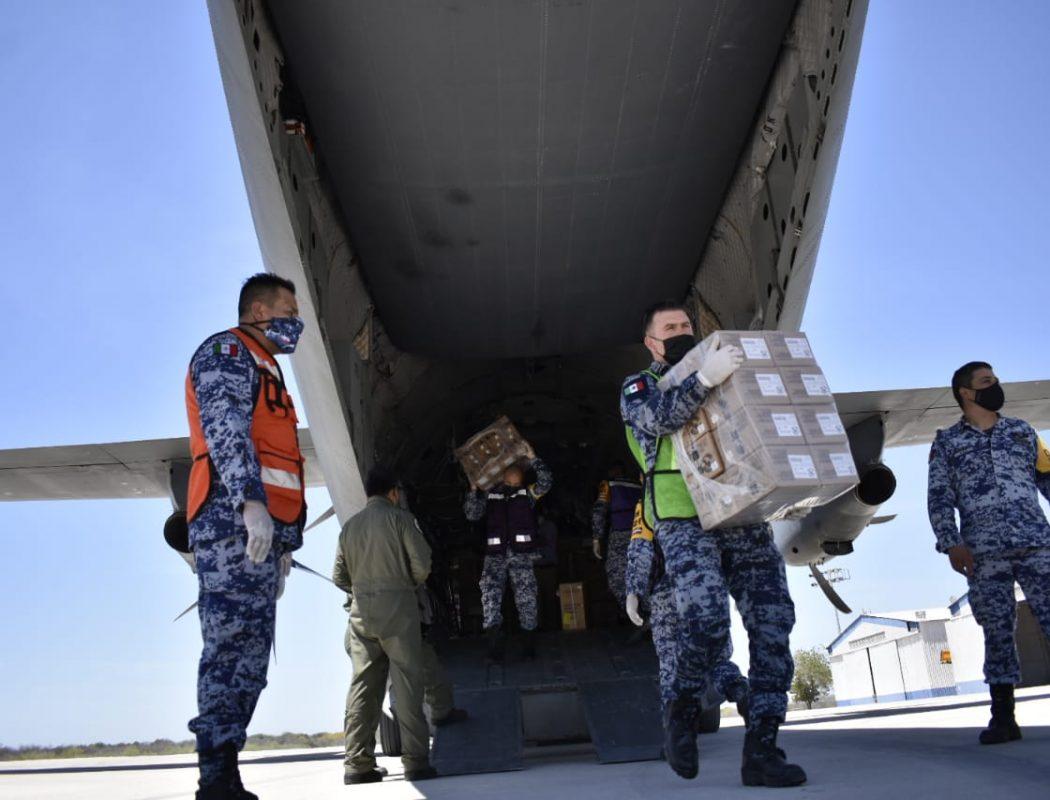 Llegaron a Sinaloa 66 mil vacunas Pfizer para primera y segunda dosis para adultos mayores y personal de salud (2)