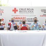 Lanza Cruz Roja Mexicana de Sinaloa su primera rifa como parte de su colecta anual