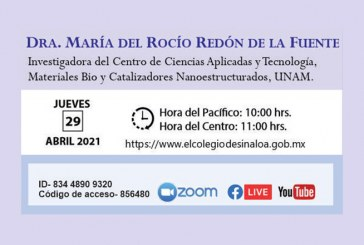 Rocío Redón disertará sobre catalizadores para la industria