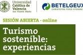 Invitación a Curso: Turismo Sostenible Experiencias