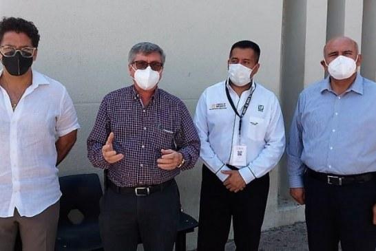 Arriban a Sinaloa Vacunas Cansino para Maestros