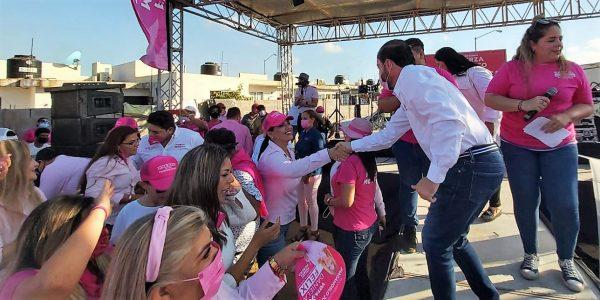 Cierra con fuerza Samuel Lizárraga su campaña por la Alcaldía de Mazatlán 2