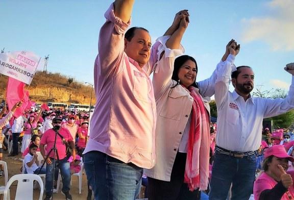 Cierra con fuerza Samuel Lizárraga su campaña por la Alcaldía de Mazatlán