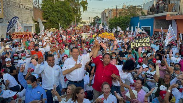 Cierre de Campaña Alianza Va por México Mazatlán 2021 3