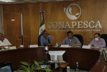 Conapesca se coordina con Canainpesca para apoyar al sector pesquero