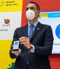 El Presidente del Gobierno presenta en FITUR el Certificado 1Verde Digital 1