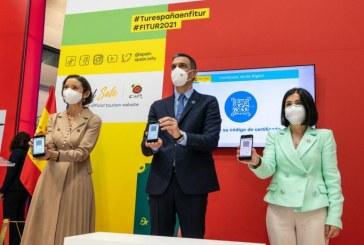 El Presidente del Gobierno presenta en FITUR el Certificado Verde Digital