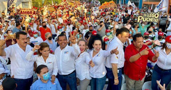 Elsy López Cierre de Campaña Mazatlán 2021 1