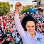Elsy López cierra campaña rumbo al congreso de Sinaloa