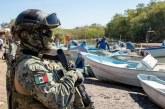 Instala la Secretaría de Marina campamento base en el sistema lagunar Huizache-Caimanero