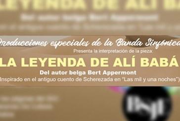 """La Banda Sinfónica Juvenil presenta este domingo 23, """"La leyenda de Alí Babá"""""""