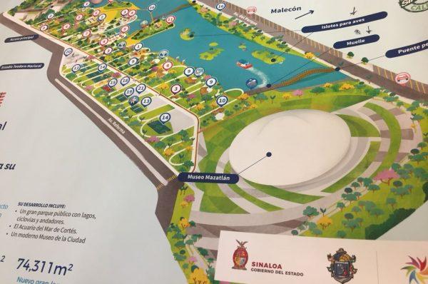 Parque Central de Mazatlán Cómo Va 2021 3